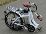 Portable plegable la bicicleta eléctrica con el pedal