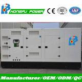 480kw 600kVA Groupe électrogène diesel Cummins silencieuse avec régulateur électrique
