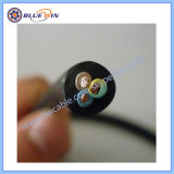 Cable de goma de caucho de 1,5 mm de cable 1mm