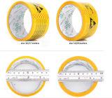 De gele Voorzichtigheid bindt de Antistatische Band van de Waarschuwing vast