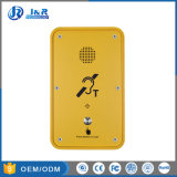 Altavoz manos libres al aire libre, teléfonos de emergencia, teléfonos de la intemperie IP67.
