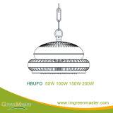 Luz de la bahía del almacén LED de la fábrica de Hbufo 50W alta
