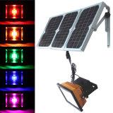 Decorativa RGB reflectores solares LED
