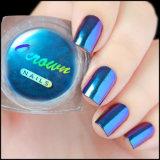 Colorant magique de vernis à ongles de changement de vitesse de couleur de chrome de caméléon