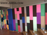 Panneau de mur insonorisant à haute densité d'écran antibruit de fibre de polyester