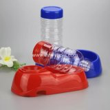 De blauwe Voeder van de Hond van Rode Kleuren Automatische/de Plastic Automaat van het Water van de Hond