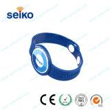Étiquette RFID Bracelet Bracelet en PVC souple en silicone