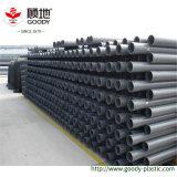 Трубы водопровода стока серого цвета 110mm UPVC