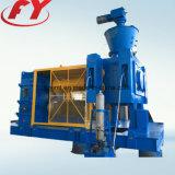 Minerale poederavegaar die dubbele rol hydraulische het samenpersen briketmachine voeden