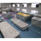 2018 Hot Sale salle de gym gonflable Voie, 3/4/6/8/10/12m Toss tapis hermétique, un matériau durable le tapis de salle de gym de la formation de l'air, tapis de yoga, de la danse de la formation