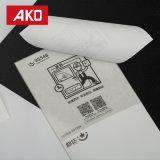 Papier thermosensible blanc imperméable à l'eau d'étiquettes d'expédition d'étiquette -adresse de doublure d'auto-collant de visibilité élevée