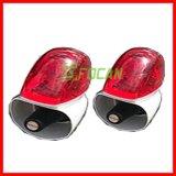 Indicatore luminoso d'avvertimento dello stroboscopio del Palo LED del segnale della coda della parte posteriore del motociclo della polizia di Focan