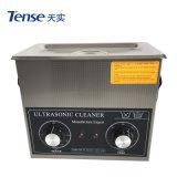 Máquina de lavar ultra-sônica mecânica tensa do controle 40kHz 3L com o tanque SUS304