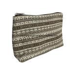 Sacchetto stampato delle estetiche di promozione della tela di canapa, sacchetto di trucco