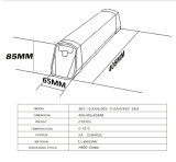 36V 10.4ah/11.6ah/12.8ah/14ah onderaan de Batterij van het Lithium van het Type van Buis voor Ebike