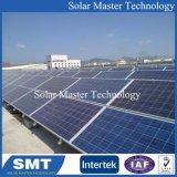 La masse du support de fixation du support du panneau solaire photovoltaïque système rack Kit solaire