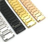 Acero inoxidable sólido de la calidad 1 venda de reloj del grano para la correa de reloj elegante del engranaje S2 de Samsung para la venda de reloj de Mens Moto 360 modelos femeninos