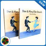 A impressão 4c venda quente história de papelão de fantasia Livro de crianças com dois cantos redondos