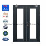証明されるBSは評価される鋼鉄ドアの耐火性のガラスドアを始動させる
