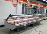 Supermercado los equipos de refrigeración de alimentos contador de servicio
