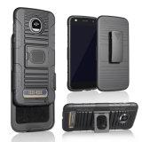 Hochleistungs-PC und TPU kombinierte schützende verteidigen Schutzkleidung-Kasten für Spiel Motorola-Z2