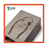 Custom бумажный мешок с горячей штамповкой золота для украшения упаковки