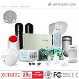 16 Wired & 16 zonas sem fio GSM/Sistemas de alarme de intrusão de segurança PSTN
