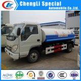Foton 4X2 5cbm carreteras urbanas camiones tanque de agua de rociadores de limpieza