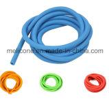 Tubo de resistência de látex natural equipamento de ginásio de tamanho 7*12 mm