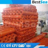 La barrera de seguridad de plástico naranja de la construcción de malla de vallado de seguridad