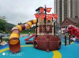 Apparatuur van de Speelplaats van de Kinderen van de Levering van de fabriek de Kleurrijke Openlucht Plastic (hd-093A)