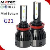 12V 24V 80W 8000LM Matec con coloridos Headligh LED Bombilla H1 H3 H4faro LED