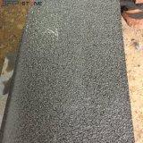 De struik hamerde Zwarte Cobble van het Graniet Steen voor de OpenluchtBevloering van de Bouw