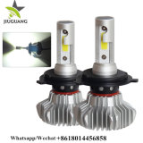 卸し売り9000lm Auto Head Light LED H4、Super Bright H7 Fanless Car LED Headlight Bulb