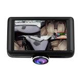 4.5 videocamera portatile della macchina fotografica panoramica dell'automobile di pollice 360 video per l'automobile