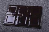 Mattonelle di ceramica profonde della cucina della superficie ruvida delle mattonelle della porcellana di pollice 120X180mm del caffè 4.8X7.2