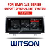 Witson BMW coche DVD de la gran pantalla 8.8'' del BMW Serie 1 2 F20 F22