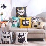 Haut de page La vente de façon colorée Polyester personnalisé Housse de coussin