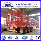 半半中国の有名なブランドの塀または棒のトレーラトラックのトレーラー