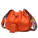 Pele genuína Hobo Bag Mulheres Saco de ombro casual de designer