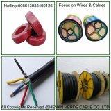 Elektrische Kabel van het Netwerk van de Controle Cat5e van de Mijnbouw van het Silicone van de Draad van de Kabel ABC van pvc van de Leider van het koper de XLPE Geïsoleerdeg Lucht Spiraalvormige Rubber ElektroCAT6