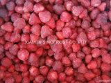 Le intere fragole di IQF, le intere fragole congelate, IQF hanno affettato le fragole, fragole tagliate IQF, il purè congelato delle fragole, fragole congelate con lo zucchero