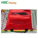 Supermercado Guardar carrinho de compras de supermercado saco reutilizável