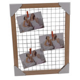 Châssis en bois de conception créative mémo pour maintenir le papier Photo/Note/