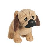 채워진 애완 동물 장난감 견면 벨벳 개 프랑스 불독 연약한 장난감