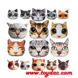 Digital gedrucktes künstliches Tiergesichts-Kissen