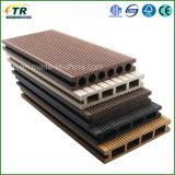 Revestimento plástico de madeira do Decking do composto WPC da qualidade superior