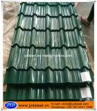 新しいカラーのデザインによって艶をかけられる屋根瓦
