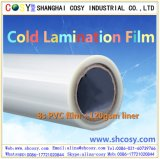 Película fría de /Window de la película de la laminación del PVC para la decoración exterior y la protección