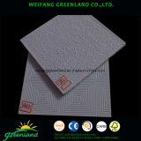Mosaico de yeso laminado pvc/PVC paneles de yeso laminado/vinilo los paneles del techo de yeso laminado, 595x595mm